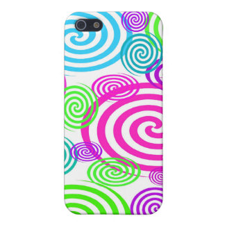 Colorful Swirls I-pod Touch Case iPhone 5 Cover