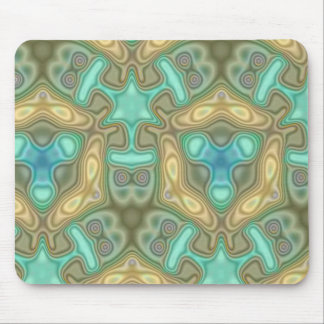Colorful unusual pattern mouse pad