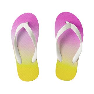Colors Custom Flip Flops, Kids Flip Flops