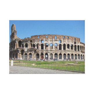 Colosseo in Rome Gallery Wrapped Canvas
