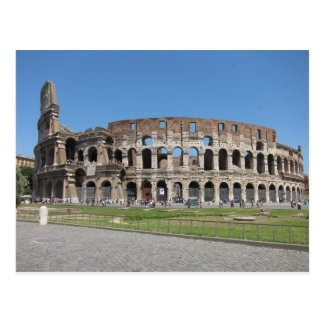 Colosseo in Rome Postcard