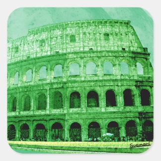 Colosseo Square Sticker