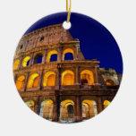 Colosseum Rome Round Ceramic Decoration