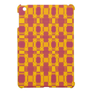 Colourful blurred chequered pattern cover for the iPad mini