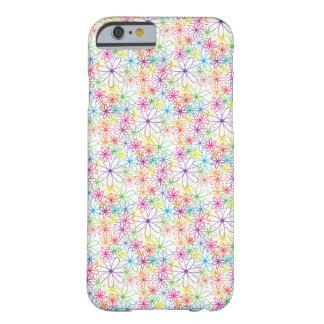 Colourful Floral Design - iPhone 6 Case / Skin