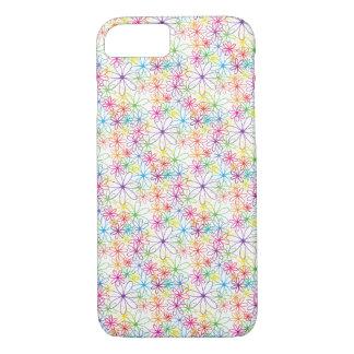 Colourful Floral Design - iPhone 7 Case / Skin