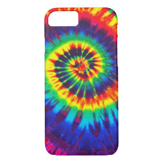 Colourful Tie-Dye iPhone 7 case