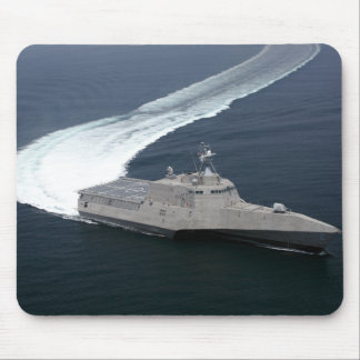 Combat ship Independence in the Gulf of Mexico Mouse Pad