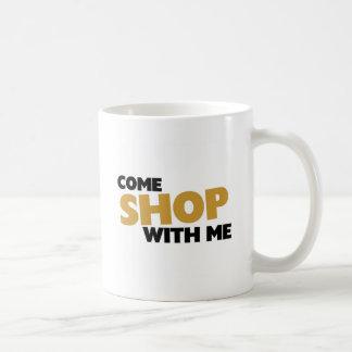 Come shop with me basic white mug