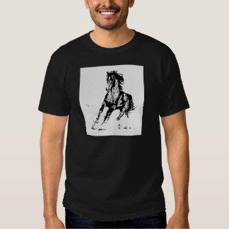 Comic Drawing Horse Tee Shirt