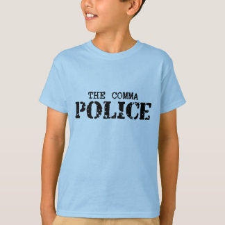 Comma Police T-Shirt