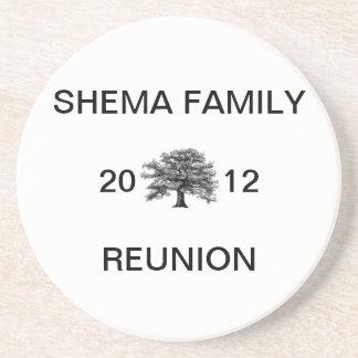 Commemorative Shema Family Reunion 2012 Coasters