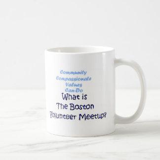 Community, Compassionate, Can-Do... Great value! Basic White Mug