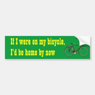 Commute Bumper Sticker