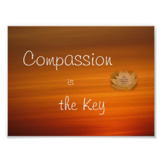 Compassion is the Key Poster