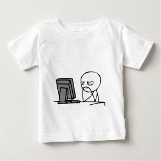 Computer Reaction Faces Infant T-Shirt