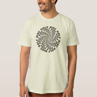 Concentric Text #2 Tee Shirts