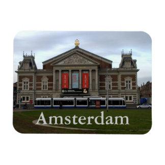 Concert Hall, Amsterdam Rectangular Photo Magnet