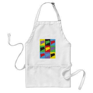 Connecticut Pop Art Standard Apron