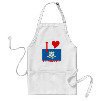 Connecticut State Flag Standard Apron