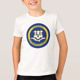 Connecticut The Constitution State Personal Flag Tee Shirt