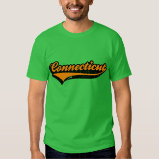 Connecticut US State Tshirt