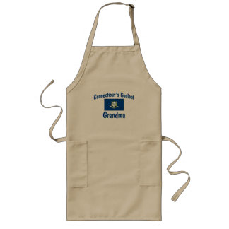 Connecticut's Coolest Grandma Long Apron