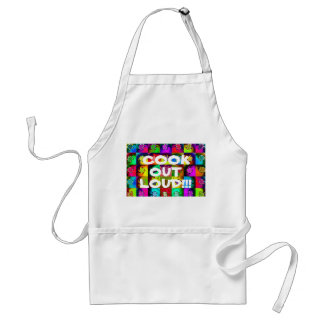 """""""Cook Out Loud!!!"""" Standard Apron"""