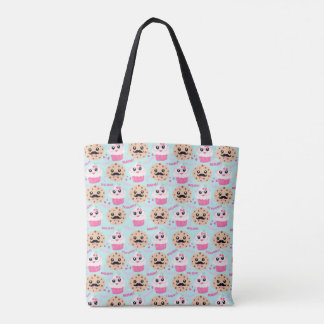 Cookies and Cupcakes Cute Totes Bag Tote Bag