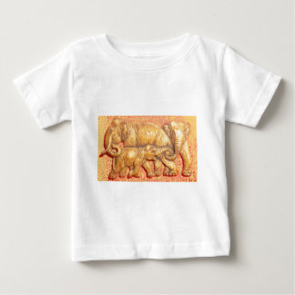 Cool Abstract Colorful Vector Elephant Family Gift T Shirt
