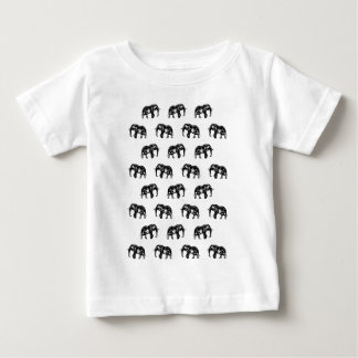 Cool Africa Pattern Elephant Picture T-shirt