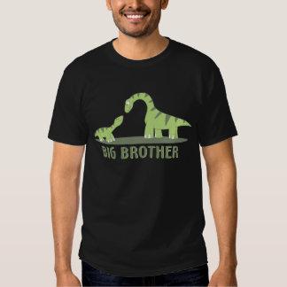 Cool Big Brother Shirt - Dinosaur Theme
