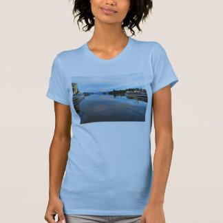 COOL BLUE DAWN - LAKE WINDEMERE - UK T-SHIRT