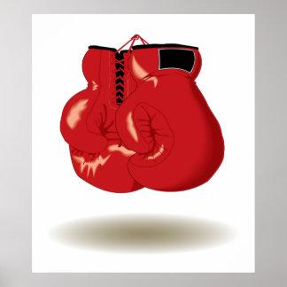 Cool Boxing Emblem Poster