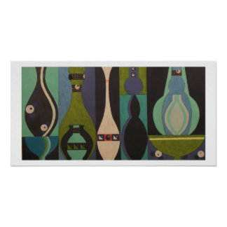 Cool Collection ll Abstract Vessel Poster
