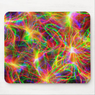 cool colourful fractal mouse pad