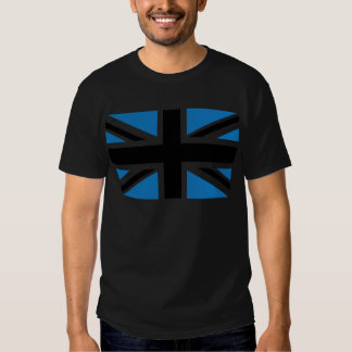 Cool Dark Blue Union Jack British(UK) Flag T Shirt