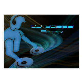 Cool DJ businescard Pack Of Chubby Business Cards