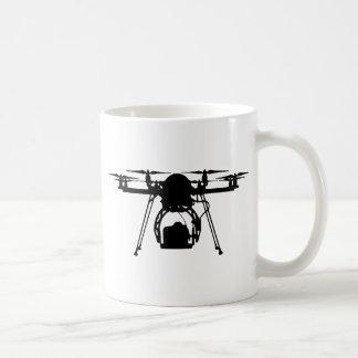 Cool Drone Bro Basic White Mug