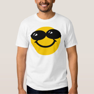 Cool dude smiley t shirts