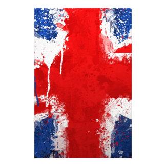 Cool England flag Stationery Design