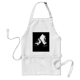 Cool Fashion Shoes trainers Style Design Standard Apron