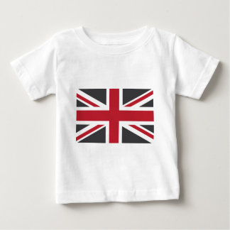 Cool Grey Red Union Jack British(UK) Flag Shirt