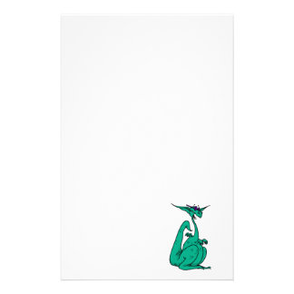 Cool Hippy Dragon Personalised Stationery