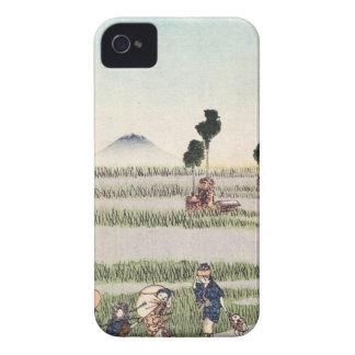 Cool japanese vintage ukiyo-e people landscape iPhone 4 covers