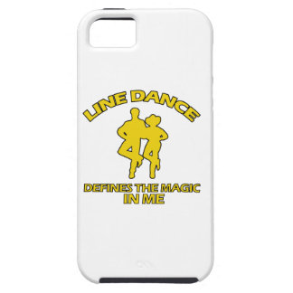 cool Line dance designs Case For The iPhone 5