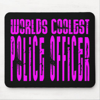 Cool Police Girl : Worlds Coolest Police Officer Mouse Pad