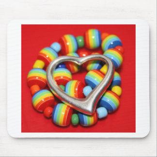 Cool Rasta Beads Design Mouse Pad