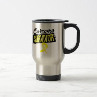 Cool Sarcoma Survivor Stainless Steel Travel Mug