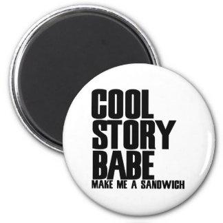 Cool Story Bro Parody 6 Cm Round Magnet